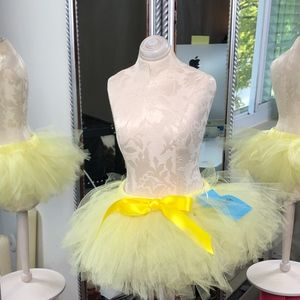 NWT Infant/Kids Yellow Tutu Skirt